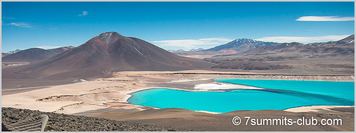 CHILE: Climb to the Ojos del Salado (6893 m) - the highest volcano in the world. Tour, in Chile - 7 SUMMITS CLUB